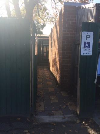 Gateway entrance to Church Hall.