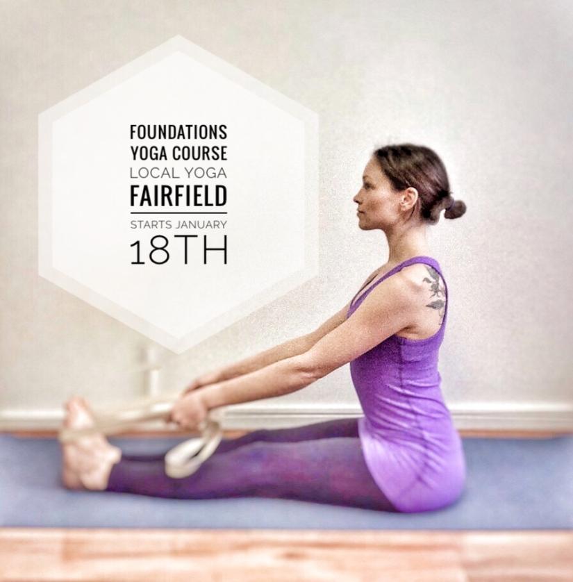 Foundations of Yoga Course @ Local Yoga Fairfield